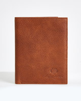 tan Paul Costelloe Living Tan Leather Passport Holder