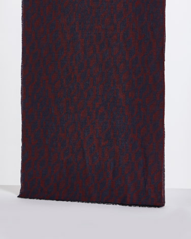 Paul Costelloe Living Navy Red Design Scarf