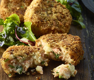 Organic Irish Salmon Fishcakes