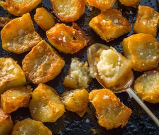 Golden Crunch Roast Potatoes