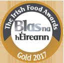 The Irish Food Awards - Gold 2017