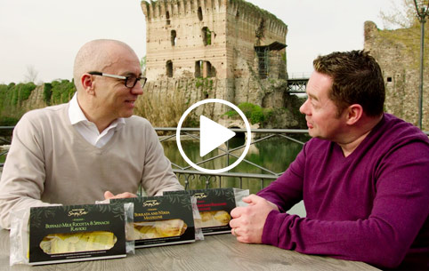 Neven Maguire meets our Italian Pasta Producer