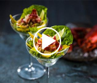 Irish Lobster & Mango Cocktail