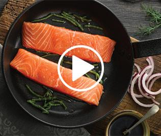 Soy & Ginger Glazed Salmon