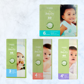 DUNNES STORES Baby-DryNappies S3 / S4/S4+/S6