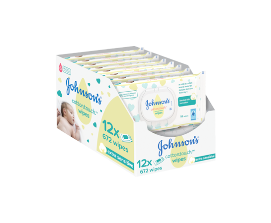 Dunnes Stores Grocery Baby Offers Johnson's Cotton Touch Wipes