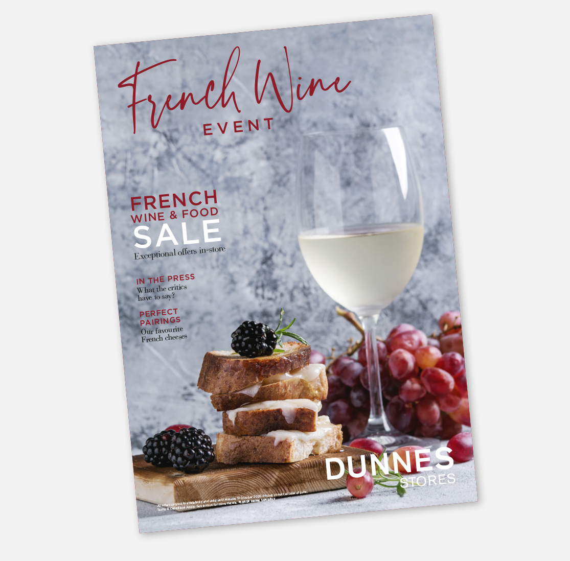 Dunnes Stores French Food and Wine Event