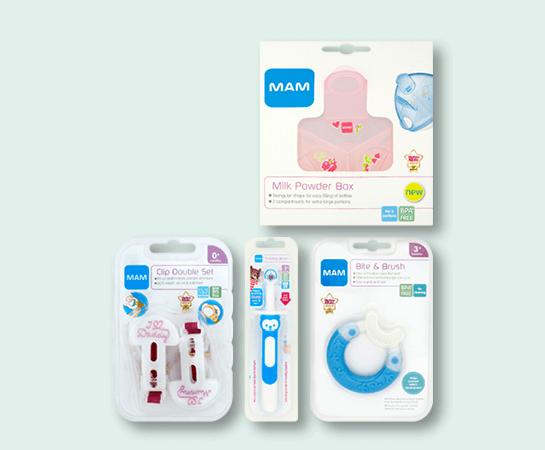 MAM Baby Accessories Range