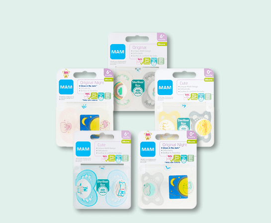 MAM Soother Range