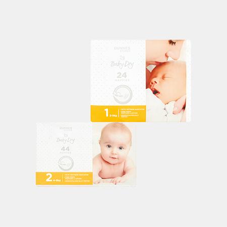 Baby-Dry Newborn Nappies S1 / S2