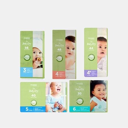 Baby-Dry Nappies S3 / S4 / S4+ / S5 / S6