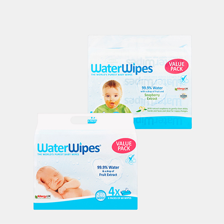 WaterWipes 4 pack