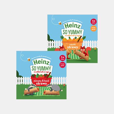 Heinz Veggie Straws Multipack Range