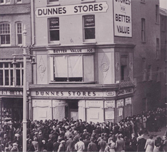 The first store in Cork 1944