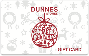 Dunnes Stores Christmas Gift card