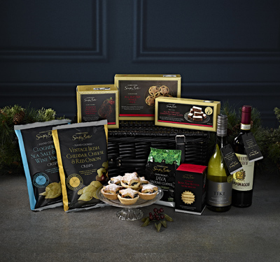 hampers with alcohol