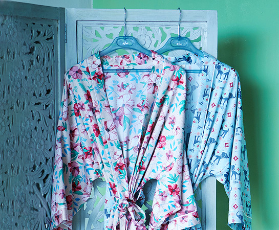 Carolyn Donnelly Eclectic Loungewear Home