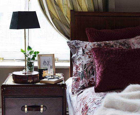 Paul Costelloe living home bedroom