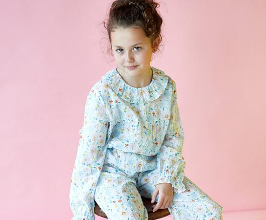 Leigh Tucker Willow kids pyjamas