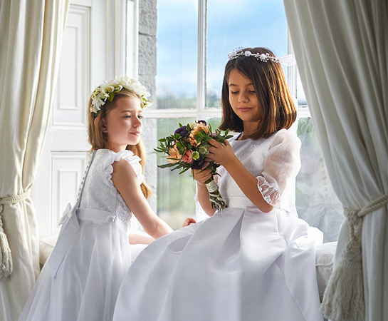 Paul Costelloe Living Occasionwear Communion girls kids