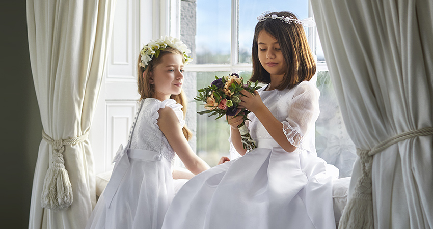 Paul Costelloe Living Occasionwear Communion kids