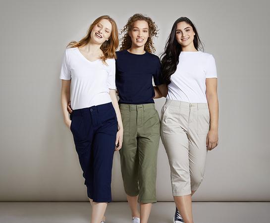 Women Crop Trousers & Shorts