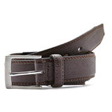 brown Textured PU Belt