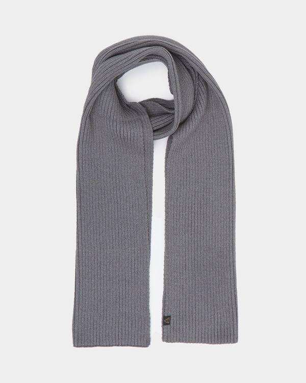 Knit Rib Scarf