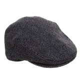 blue Tweed Flat Cap