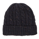 navy Cable Nep Hat