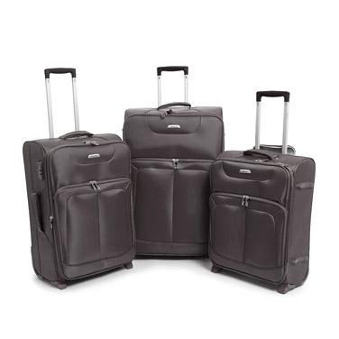 greyMax Lightweight Two Wheel Luggage