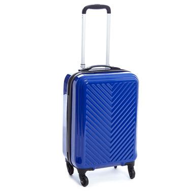 blueChevron Four Wheel Hard Luggage