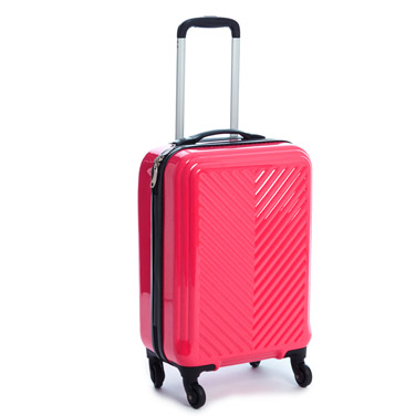 Chevron Four Wheel Hard Luggage