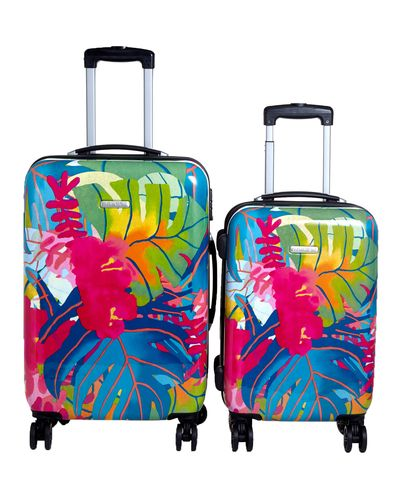 Eight Spinner Wheel Tropical Print Case