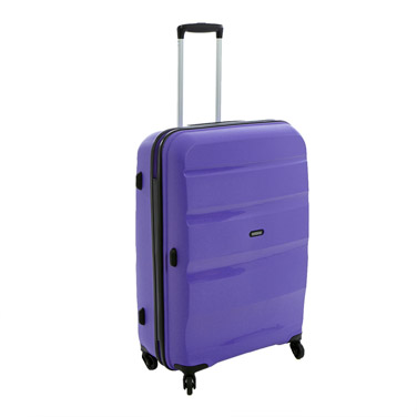 purple American Tourister Bon Air 29in Hard Shell Four Spinner Wheel Luggage