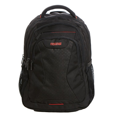 blackAmerican Tourister Laptop Backpack