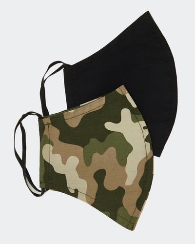 Men's Face Covering - Pack Of 2