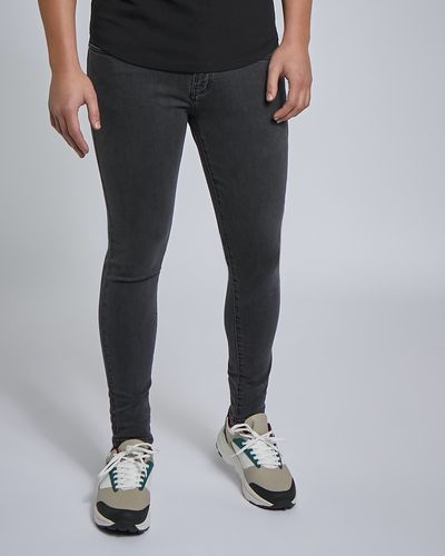 Paul Galvin Grey Stretch Skinny Denim Jeans thumbnail