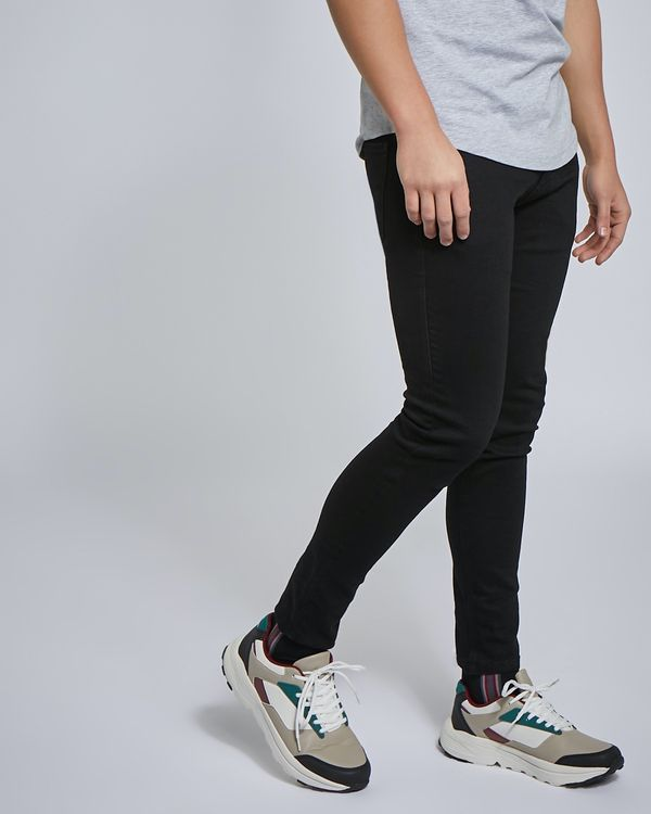 Paul Galvin Black Stretch Skinny Jeans