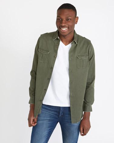 khakiPaul Galvin Overshirt