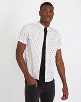 stone Paul Galvin Short Sleeve Briquette Shirt
