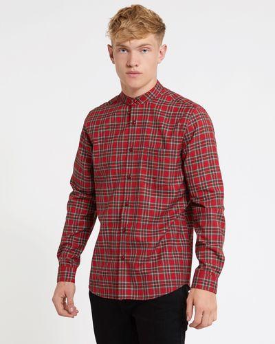 Paul Galvin Red Check Yarn Dye Shirt