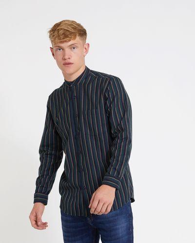 Paul Galvin Navy Stripe Shirt