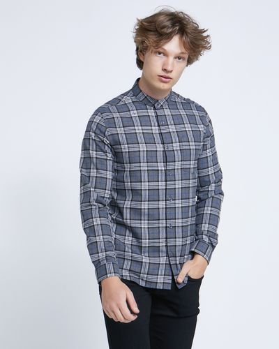 Paul Galvin Grey Check Shirt thumbnail