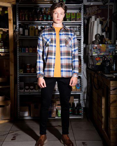Paul Galvin Fishbone Check Shirt