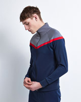 navy Paul Galvin Tracksuit Top