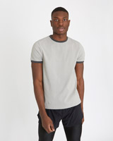 grey Paul Galvin Grey Contrast T-Shirt