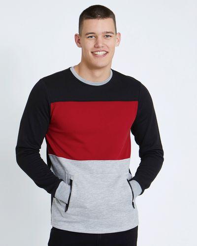 Paul Galvin Colour Block Sweatshirt