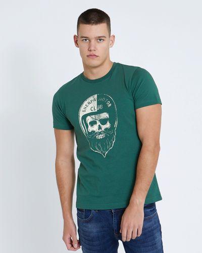 Paul Galvin Green Biker Tee Shirt