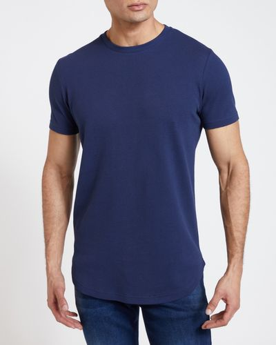 Paul Galvin Navy Popcorn Tee Shirt